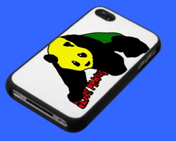 """I Love Pandas"" iPhone 4 Case by timmywheeler"