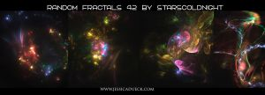 Random Fractals 42 By Starscoldnight by StarsColdNight