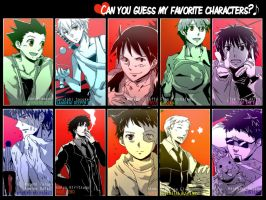 favorite character meme #1 :ANSWER: by magonpoll24