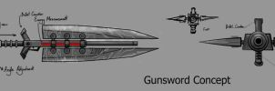 Gunsword concept by articraft