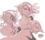 Submissive Ghira sketches by MingChee
