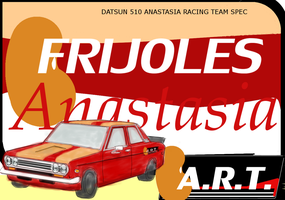 Datsun 510 ANASTASIA RACING TEAM SPEC by MikeWong2795