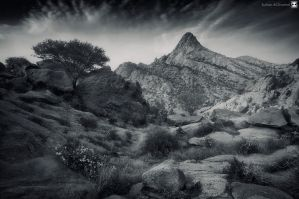 scary mountain by sultan-alghamdi