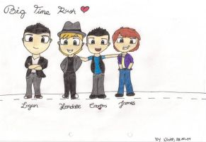 Big Time Rush :3 by xNiciCupcake