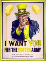 I Want You: Butter Army by PurpleBananaSlug
