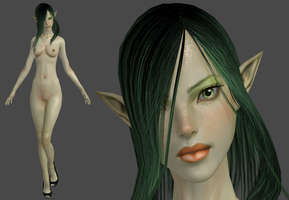 Elf green by XXMAUROXX