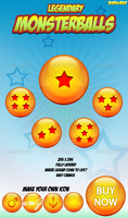 Monsterballs Icons by BlueX-Design