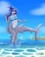Emerging from the Water [Trade] by The-B-Meister