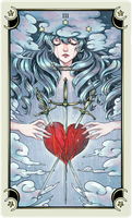 ::Tarot-Minor Arcana-3 of swords:: by rann-poisoncage