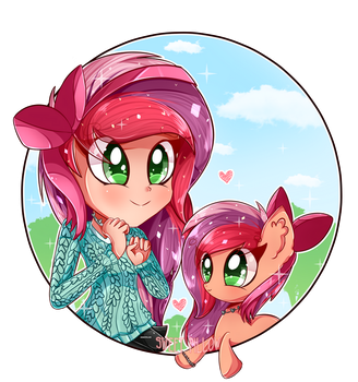 COMMISSION: Apple Spice (+SPEEDPAINT) by Sweet-Pillow
