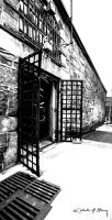 Abandoned Penitentiary - Ghost Entrance by cjheery