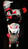 Megatron Bobcat Plush by WhittyKitty