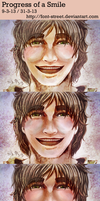 Progress of a Smile by font-street