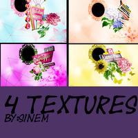 TEXTURE PACK by sinemDEMI