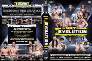 WWE NXT Takeover R EVOLUTION 2014 DVD Cover by Chirantha