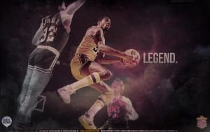 Magic Johnson Legend Wallpaper by IshaanMishra