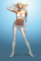 Emma Frost by cakes