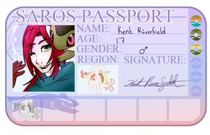 SXL Kent's passport by Red-RainGoddess
