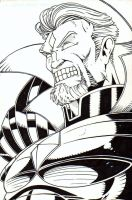 Mr. Sinister Inked by CliffEngland