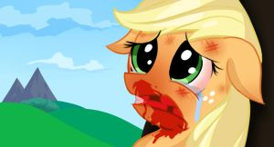 That happened Applejack? by Aiyumerita
