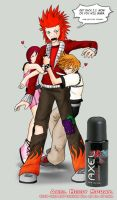 KH - Axel Body Spray by tafkae
