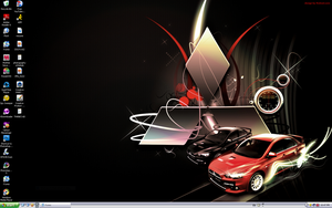 Evo X Desktop by pyraLyte