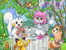 Talli's Pokemon Tea Party by Legrandzilla