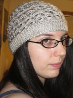Misty Broomstick Lace Hat by PamGabriel