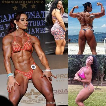 Daily Fitspiration Manda Costa by zenx007