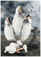 The Death Of An Angel... by Lemmart