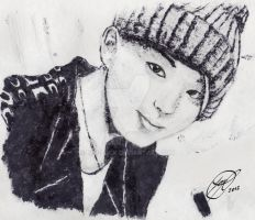 Youngjae - Digit Print by Nim-lock