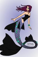 Sarah mermaid by Devilgirl007