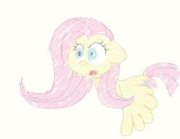Crayon Fluttershy by Inspectornills