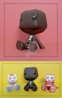 Sackboy Papercraft by PaperBuff