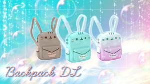 [MMD] -Kawaii-Bag-Pack- DL by DeidaraChanHeart