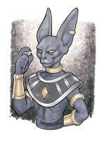 The God of Destruction by BigChrisGallery