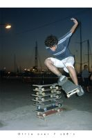 Ollie over 7 sk8 by ruvsk-sk8