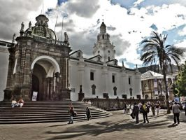 Old Town Quito by featherwhitey