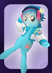 Pony Aoba by PoisonicPen