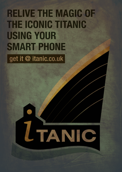 iTanic promotional poster by nox969