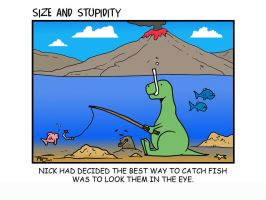 Fishy fishy by Size-And-Stupidity
