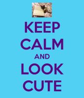 Keep calm and look cute- giveaway prize! by muffinthehamster11