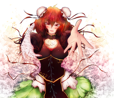 Wild and Horned Hermit colored by mao-l