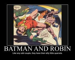 Motivation - Batman And Robin by Songue