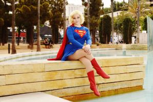 Original Supergirl at SDCC 2015 by TempeCosplay