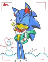 Say Hi Sonic by SilentRain12