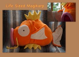 Life Sized Magikarp by CeltysShadow