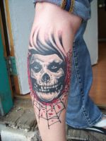 more work on the crimson ghost by tattoos-by-zip