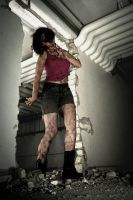 Resident Evil 2 zombie cosplay by nenco