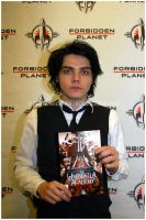 Gerard Way Comic Book by MrsHelenaWay13